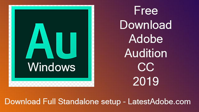 Adobe Audition CC v12.1.2.3 Free Download