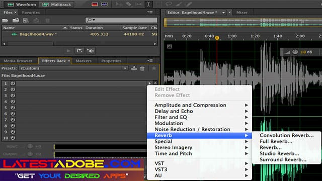 adobe best audio editor for pc