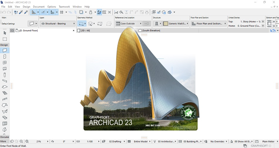 Graphisoft ARCHICAD 23 free Download